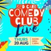 Outdoor comedy - Red Card Comedy Club